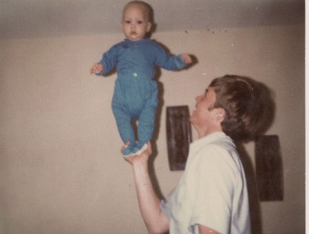 "My dad ""lifted me up"" even in my earliest days."